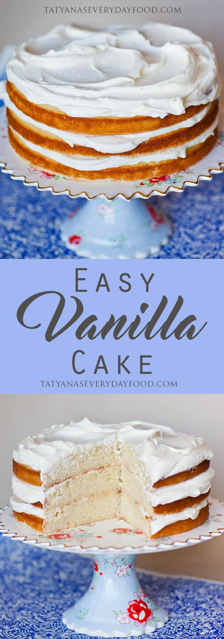A good recipe for simple vanilla cake is priceless! Vanilla cake is a great base for any cake, perfect for adding delicious fillings and frosting! This recipe yields a very tender and moist cake with just the right amount of sweetness! Use this recipe for 2 or 3, 8-inch rounds; 2, 10-inch rounds; 13×17-inch jelly […]