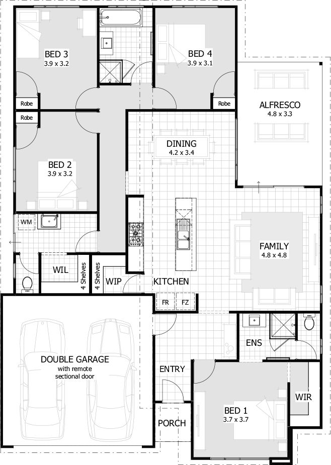 Over 35 Large, Premium House Designs, And House