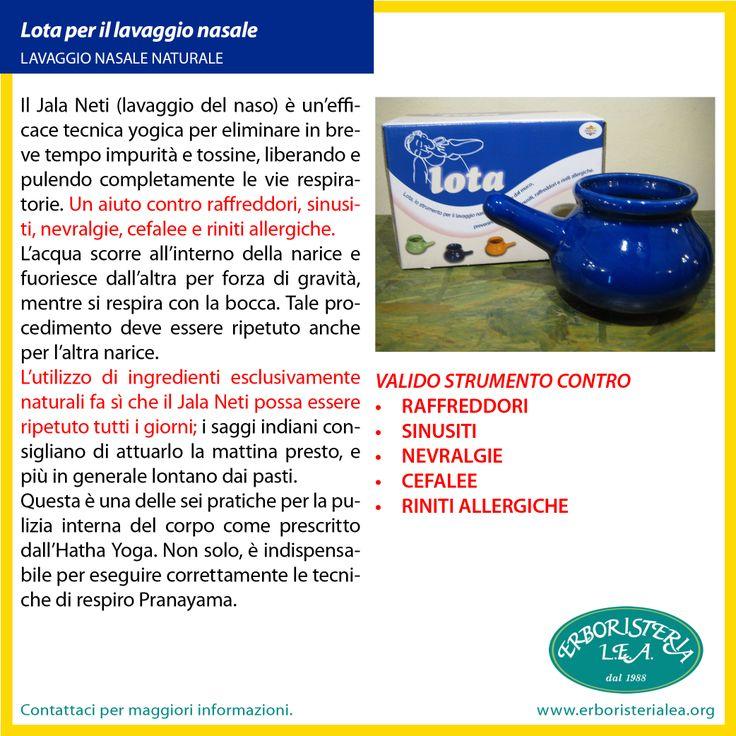 scopri i benefici della #lota per il lavaggio nasale contro raffreddori #sinusiti #allergie #riniti lo trovi qui http://goo.gl/bQJ3kP