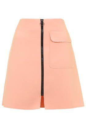 TALL Patch Pocket A-Line Skirt