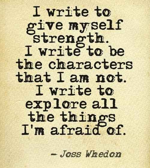 Yes! I gain strength, endurance & purpose from writing. When I write, I move from a place of sorrow to joy.