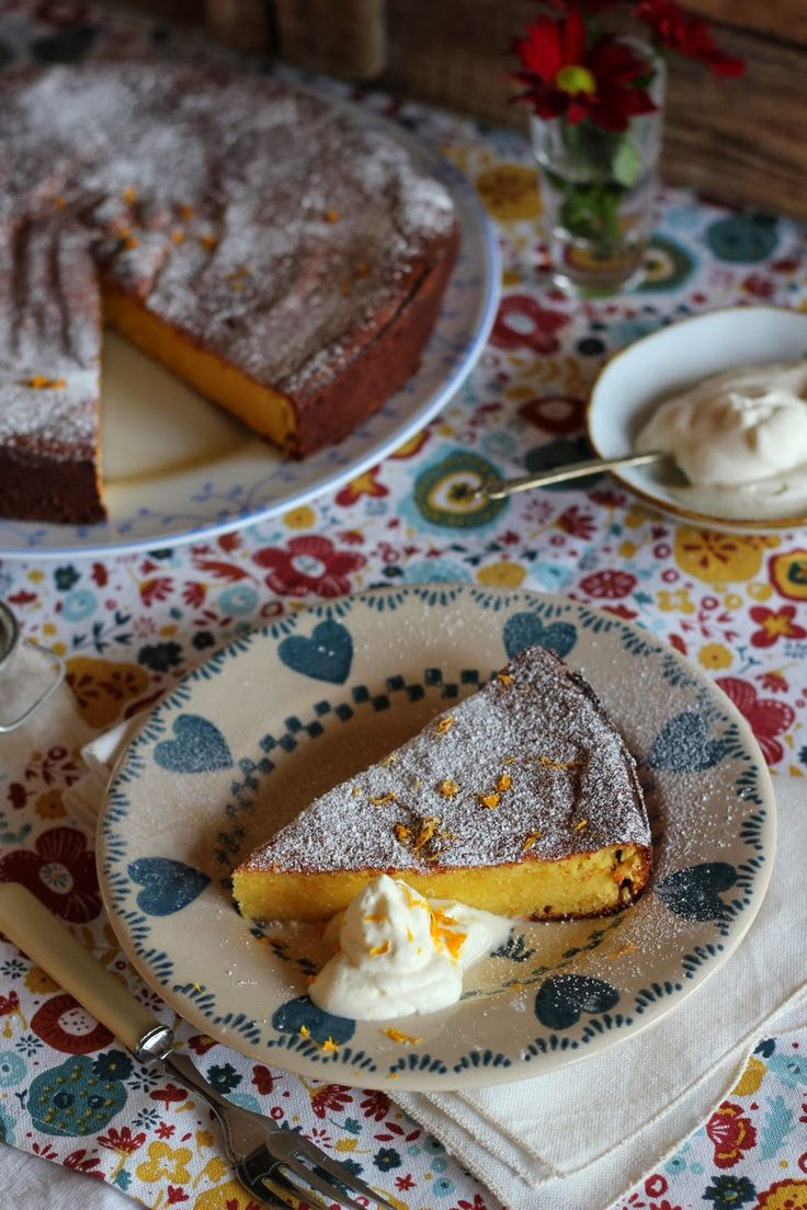 Claudia Roden's Moroccan Orange & Almond Cake