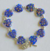 Murano Glass Rosary Bracelet.