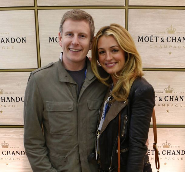 Love match for newlyweds Cat Deeley and Patrick Kielty at the tennis