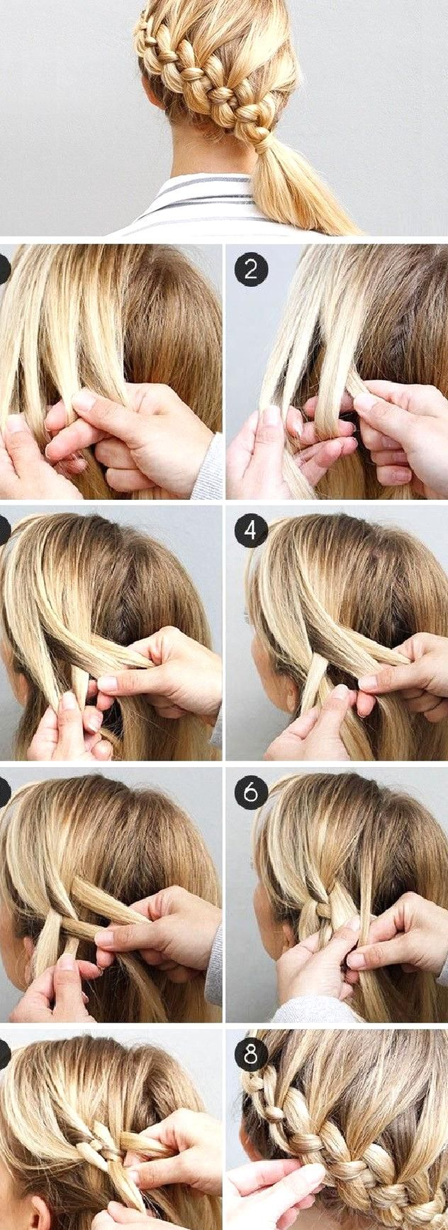 A Step By Step Guide To 4 Strand Dutch Braids By Divine Caroline The Four Strand Braid Made Easy Ish Hair Styles Braided Hairstyles New Braided Hairstyles