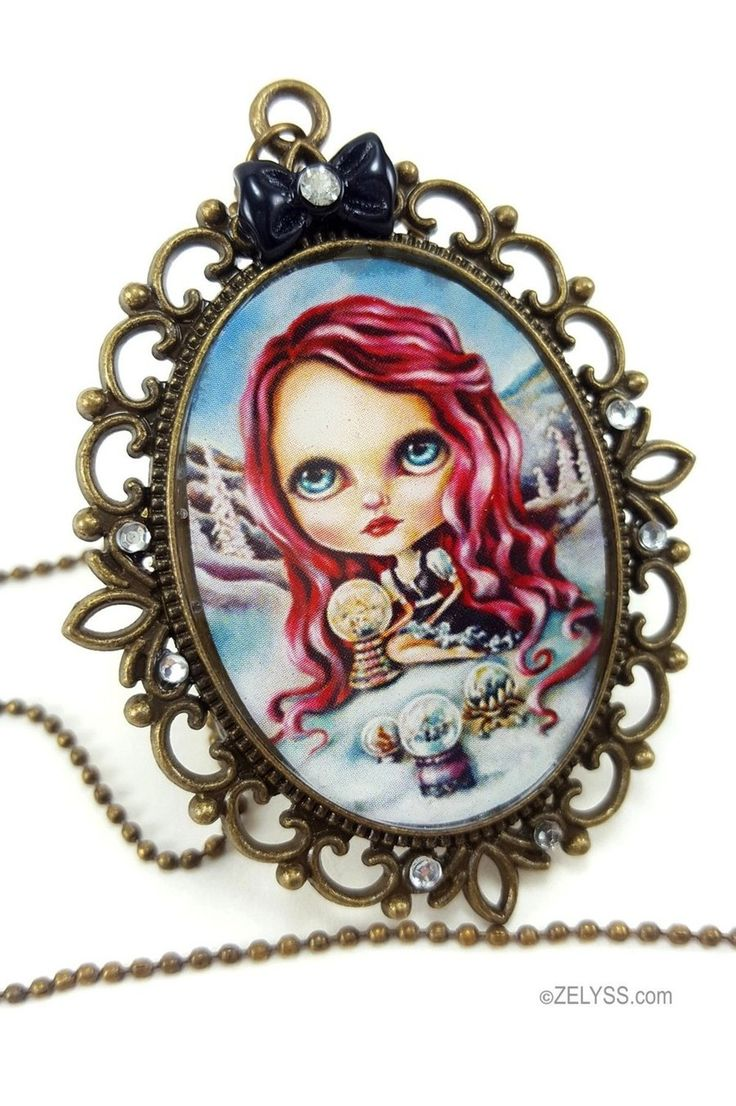 Image of Limited edition: 'Snow Globes' Print Cameo