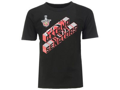 Ottawa Senators NHL 2017 Youth Stanley Cup Playoffs Shortside T-Shirt