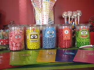 Yo Gabba Gabba Candy Bar