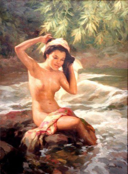 17 Best images about ♡ Fernando Amorsolo on Pinterest | Oil on ...