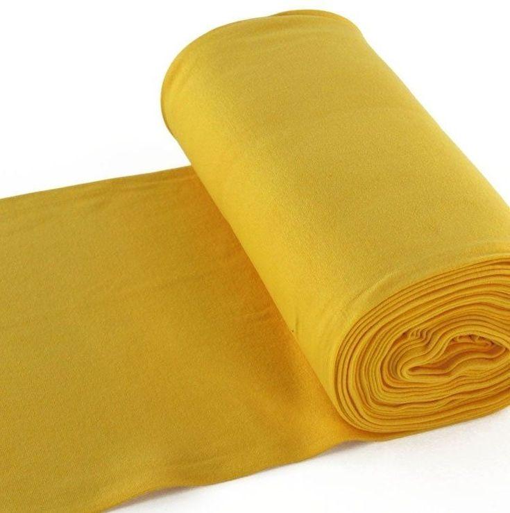 Bu00fcndchenstoff glatt, gelb Sehr schu00f6nes, …
