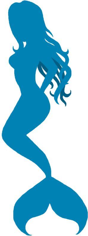 mermaid silhouette   Mermaid Silhouette by ~SlightDelirium on deviantART