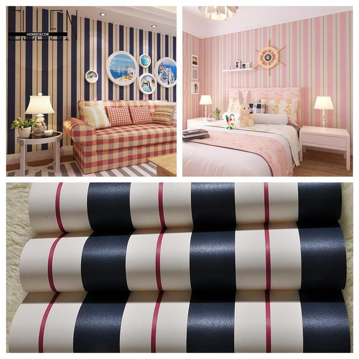 17 Best Ideas About Pink Striped Walls On Pinterest