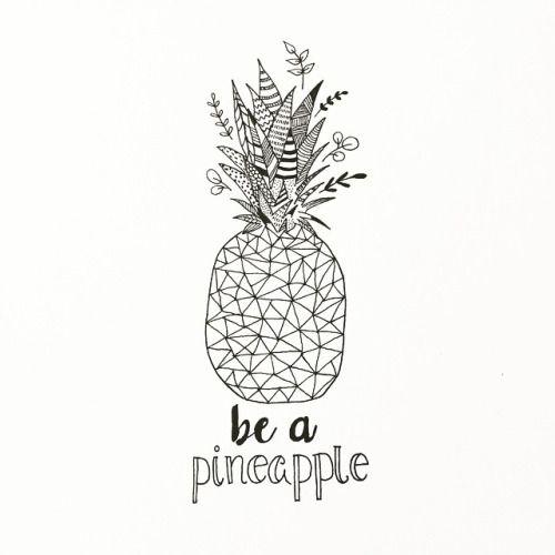 Die besten 25 Ideen zu Ananas Tattoo auf Pinterest ...