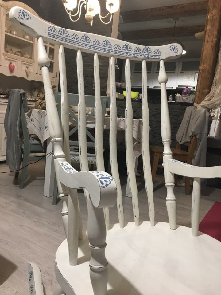Rocking chair painting