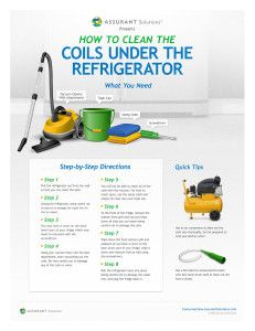 (Assurant) How to Clean the Coils Under Your Refrigerator