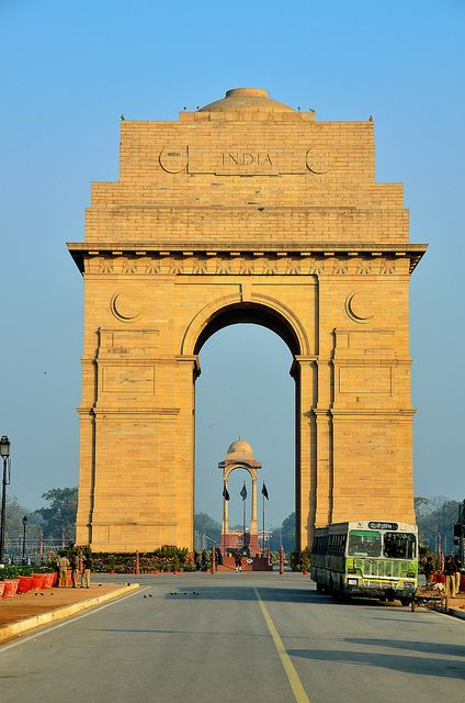 'Gate of India', Delhi, India