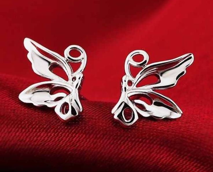 925 Sterling Silver Butterfly Earrings #925 #sterling #sterlingsilver #studearrings #earrings #silver #butterfly #animals #cute #present #gift #jewellery #ladies http://m.ebay.co.uk/itm/Free-Gift-Bag-925-Sterling-Silver-Butterfly-Stud-Earrings-Ladies-Jewellery-Xmas-/282067141672?nav=SELLING_ACTIVE