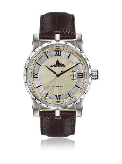 Richtenburg Reloj automático Man R12300 Lugano Marrón en Amazon BuyVIP