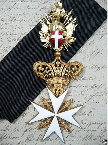Cross of a Knight of Justice or Knight of Honour and Devotion. #OrderofMalta #SMOM