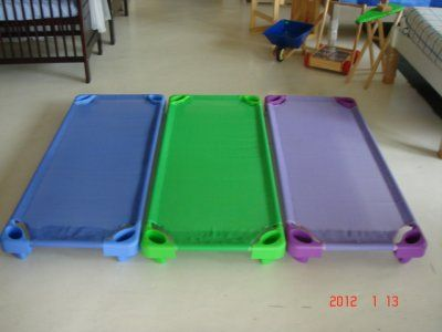 Per4mer Stackable Kids Beds for every creche, Daycare, Montessori, Nursery, Pre- School.