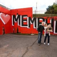 52 Things to do in Memphis-One for each week of the year. Pictured is #35 - Take a selfie