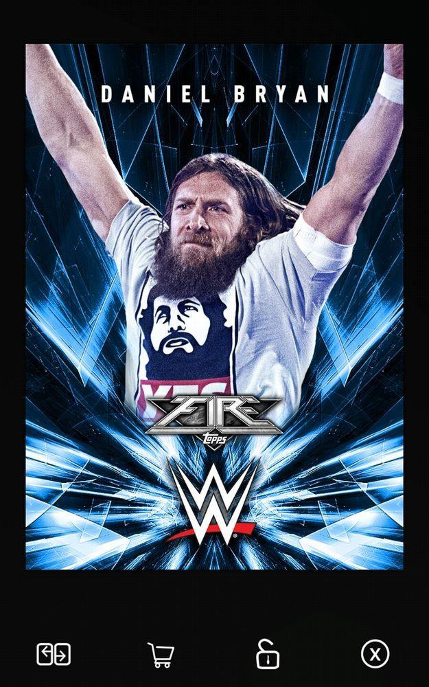Daniel Bryan Fire Blue Digital Card WWE Slam 2017 | Sports Mem, Cards & Fan Shop, Fan Apparel & Souvenirs, Wrestling | eBay!