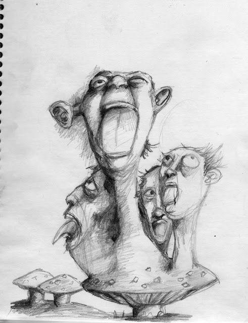 Alucinación colectiva por la Ingesta de Hongos