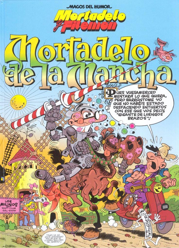 Mortadelo de la Mancha [Francisco Ibáñez]