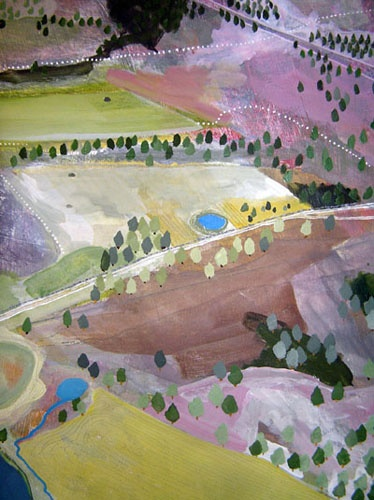 seth clarkSethclark, Land Ritamay, Colors Palettes, Seth Clark, Colors Green, Landscapes Painting, Art Painting, Aerial View Art, Abstract Landscapes