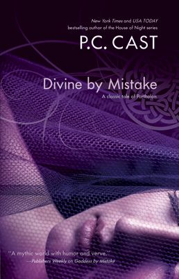 """The first of the """"Divine"""" series - a total young adult crack-up read. Better than her House of Night series."""