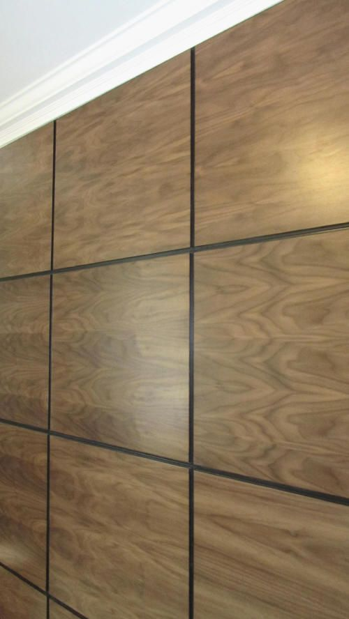 Contemporary Artizo American Walnut Decorative Wall Panels
