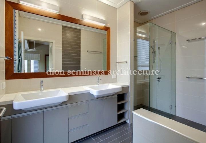Bathroom interior design, Brisbane, Indooroopilly - Dion Seminara Architecture