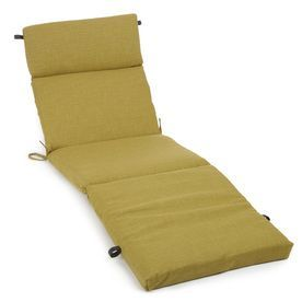 Blazing Needles Avocado Solid Cushion For Chaise Lounges 93475-Reo-S2-