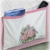 Rose Pillowcase Bed Caddy