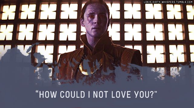 """Loki's Dirty Whispers - Submission: """"How could I not love you?"""""""