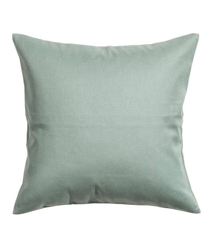 Simple Check this out Cushion cover in cotton canvas with a concealed zip Visit