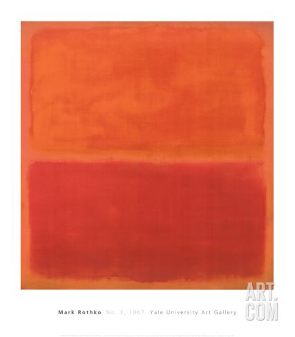 No. 3, 1967 Art Print by Mark Rothko at Art.com