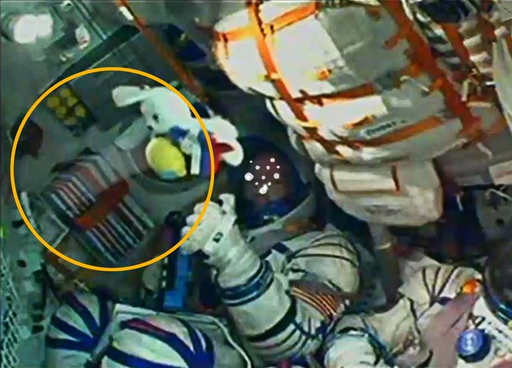 Alien or Ghost spotted in Joint US/ Russian Space Station's Expedition, September 25, 2014