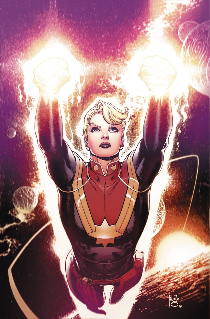 The Mighty Captain Marvel #1 - Paulo Siqueira