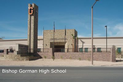 Homes for sale near Bishop Gorman High School 89148 zip code area inClark County. This is a coeducational, Catholic, private school. The school mascot is Gael, a mounted Irish Knight. The school colors are orange and blue.#remax #lasvegasrealestate