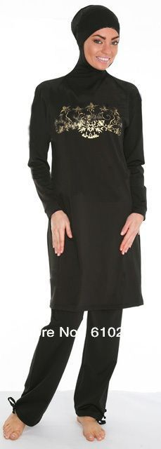 Burkini, Modest Hijab Swimwear, Muslim Swimsuit, Islamic Swimsuit Available for sale $60.95 including DHL. size xs - 2xl
