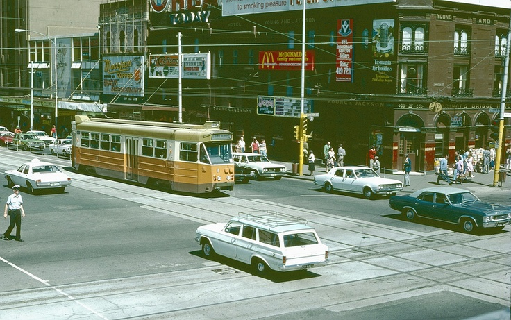 Z1 late 1970s Swanston and Flinders