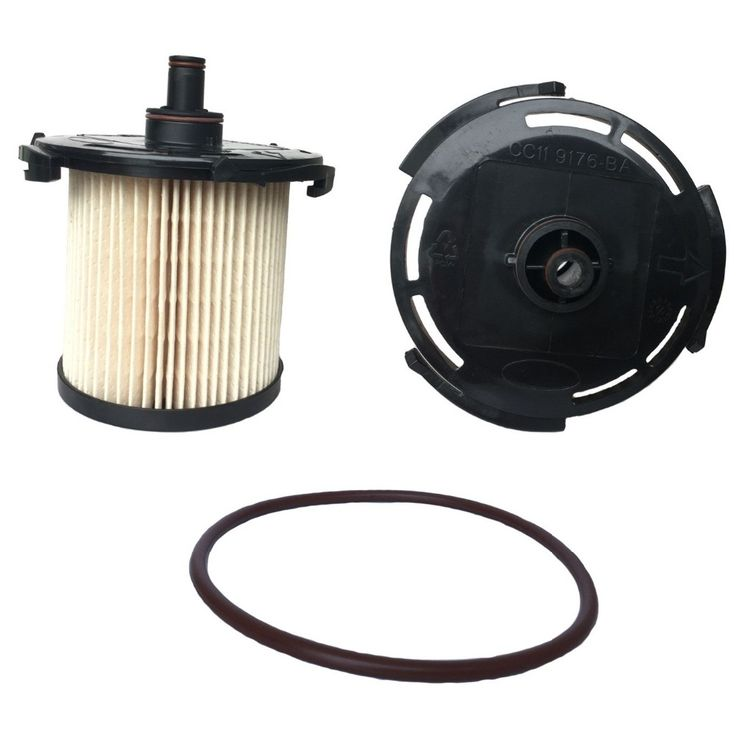 2 PCS ENGINE FUEL DIESEL FILTER CC11-9176-BA CC119176BA 1764944 FOR FORD TRANSIT 2.2 TDCI 2012 155PS