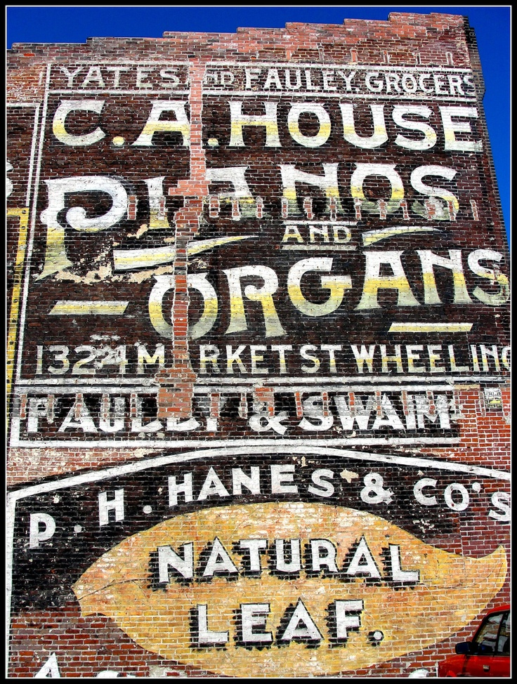 C.A.House Pianos and Organs, 1324 Market ST. Wheeling, WV