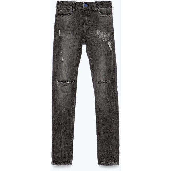 Zerrissene jeans herren zara