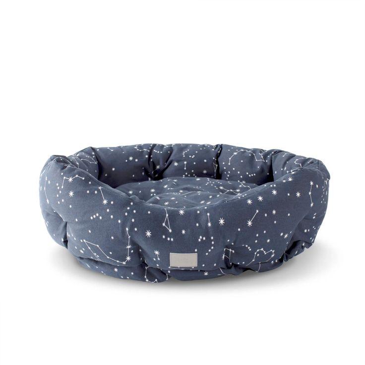Petshop By Fringe Studio Celestial Round Pet Cuddler 20 L X 19 W Petco Dog Bed Pet Bed Dog Bed Sizes
