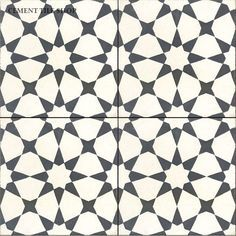 Cement Tile Shop - Handmade Cement Tile | Agadir White