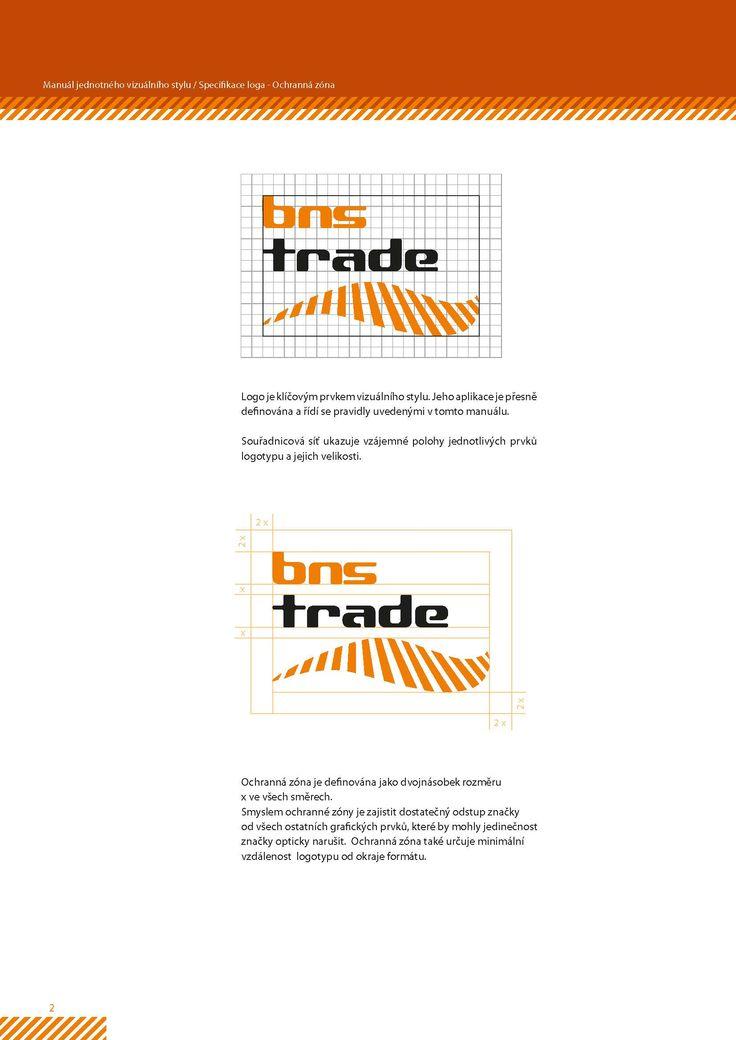 Logomanuál a logo pro BNS trade