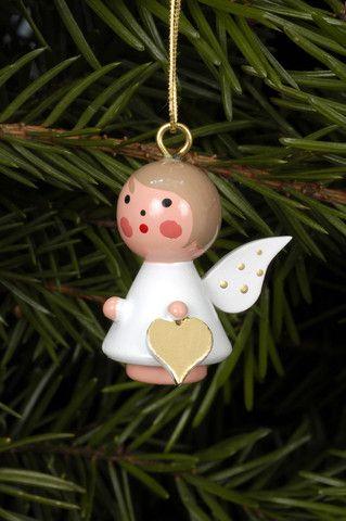 Angel Ornament - White