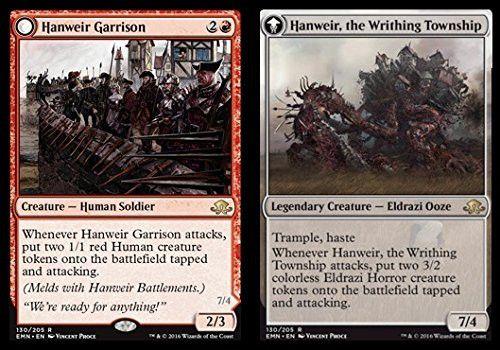Magic: the Gathering - Hanweir Garrison // Hanweir, the Writhing Township (130/205) - Eldritch Moon - Foil